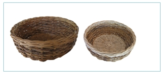 keranjang rotan fruit basket